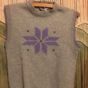 Vintage Clipper Bay Sweater Vest